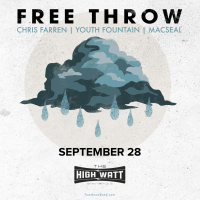 Free Throw at Cannery Ballroom