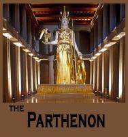 Athena inside The Parthenon at Centennial Park in downtown Nashville Tennessee