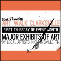 First Thursday Art Walk in Clarksville Tennessee