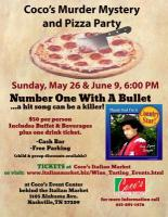 Coco's Murder Mystery & Pizza Party!
