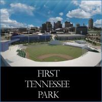 First Tennessee Park Nashville Sounds ball field in Nashville Tennessee