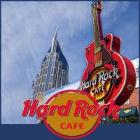 Hard Rock Cafe in downtown Nashville Tennessee