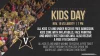 Vanderbilt Men's Basketball Kids Day