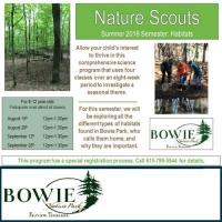 Nature Scouts at Bowie Nature Park