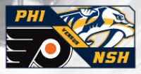 Nashville Predators vs. Philadelphia Flyers