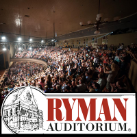 Ryman Auditorium in downtown Nashville Tennessee