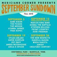 Musicians Corner Presents September Sundown