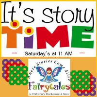 Your kids will enjoy Storytime at Fairytails Bookstore on Saturday mornings