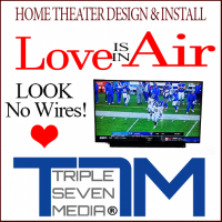 T7M Home Theater & Wall Mounting for the big Game