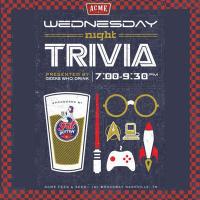 Wednesday Night Trivia