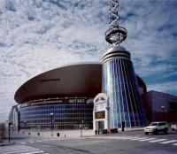 Bridgestone Arena in downtown Nashville Tennessee