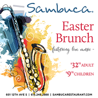 Celebrate Easter at Sambuca Restaurant in downtown Nashville