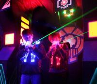 Laser Chase in Franklin
