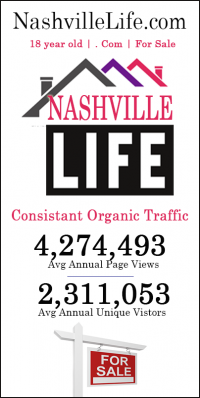 Domain Name Nashville Life is for sale