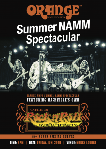 Summer NAMM Spectacular feat. Thee Rock n' Roll Residency at Mercy Lounge