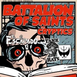 Battalion Of Saints, Cryptics, El Escapado, Tank Rats, Cobra, The Cobra, The Cobra Nashville, Stik Man, Stik Man Records,