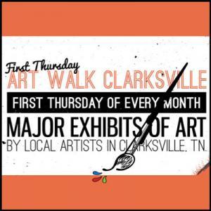 First Thursday Art Walk in Clarksville Tennessee