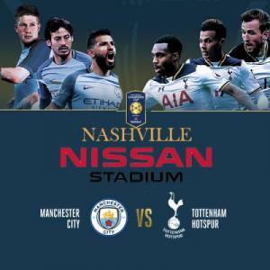 International Champions Soccer Cup in Nashville Tennessee