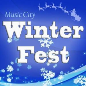 Music City WinterFest in Centennial Park Nashville Tennessee