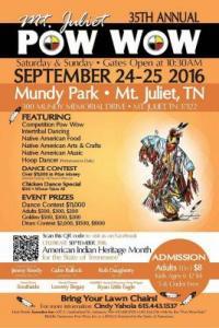 35th Annual Mt. Juliet Pow Wow