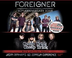 Foreigner W/ Cheap Trick And Jason Bonham's Led Zeppelin Experience