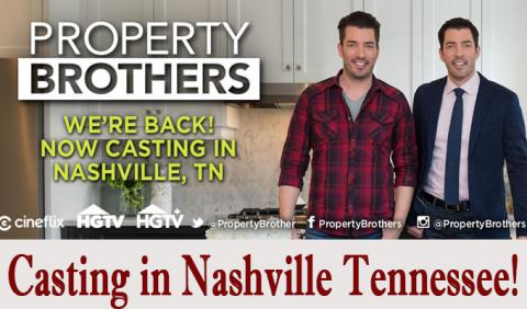 Property Brothers from HGTV in Nashville Tennessee
