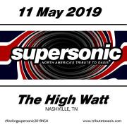 SuperSonic - North America's Tribute To OASIS at Cannery Ballroom