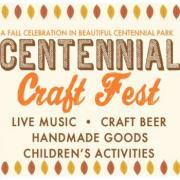 Centennial Craft Fest in Centennial Park