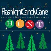 Flashlight Candy Cane Hunt