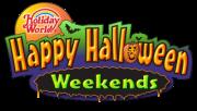 Happy Halloween Weekends Logo