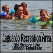 Family Swimming at Laguardo Recreation Area on Old Hickory Lake Lebanon Tennessee