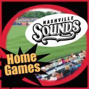 Nashville Sounds July Home Games