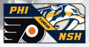 Nashville Predators vs. Philadelphia Flyers