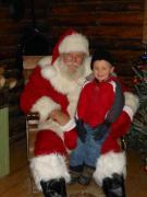 Santa at Streets of Indian Lake