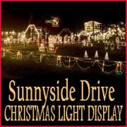 Sunnyside Drive Christmas Light Display