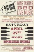 Swine & Wine at Natchez Hills Vineyard & Winery