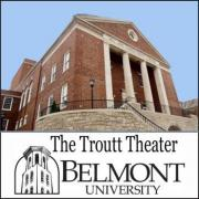 Troutt Theater at Belmont University in Nashville Tennessee