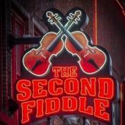 The Second Fiddle Building Sign in downtown Nashville Tennessee