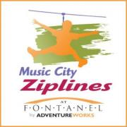 Music City Ziplines in Nashville Tennessee