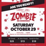 Zombie 5K Chase Race