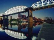 Nashville Greenway Trail - Shelby Street pedestrian bridge