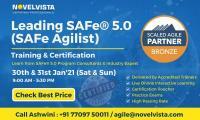Leading SAFe 5.0 (SAFe Agilist) Training & Certification