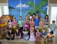 Moana Inspired Hawaiian Luau Party