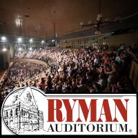 Ryman Auditorium in downtown Nashville Tennessee