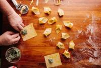 Pasta Making Class and Lunch at Yolan