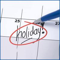 Events by Holidays