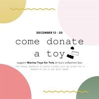 Toys for Tots Toy Drive @ lou