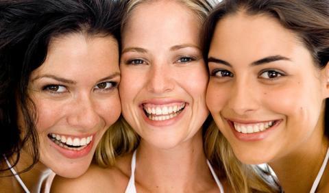 young girls flashing bring smiles