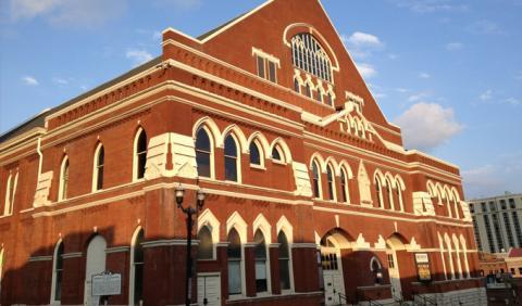 World Famous Ryman Auditorium