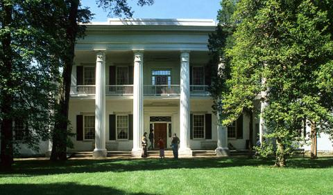 Andrew Jackson's home the Hermitage in Nashville Tennessee